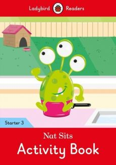 Nat Sits Activity Book Ladybird Readers