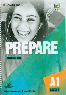 Prepare 1 Teacher's Book with Downloadable Resource Pack - Emma Heyderman