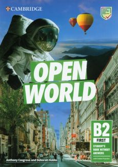 Open World First Student's Book without Answers with Online Practice - Anthony Cosgrove, Deborah Hobbs
