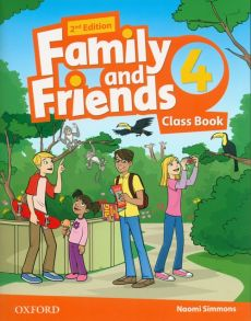 Family and Friends 4 Class Book - Naomi Simmons