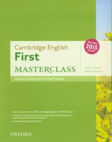Cambridge English First Masterclass Student's Book +Online - Simon Haines, Barbara Stewart