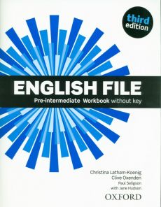 English File 3E Pre-Intermediate Workbook - Christina Latham-Koenig, Clive Oxenden