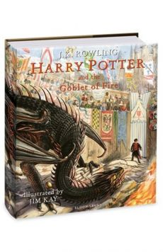 Harry Potter and the Goblet of Fire: Illustrated - J.K. Rowling