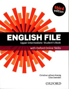 English File Upper-Intermediate Student's Book + Oxford Online Skills - Christina Latham-Koenig, Clive Oxenden