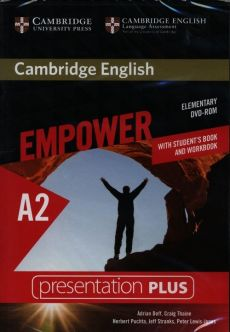 Cambridge English Empower Elementary Presentation Plus (with Student's Book and Workbook) - Adrian Doff, Peter Lewis-Jones, Herbert Puchta, Jeff Stranks, Craig Thaine