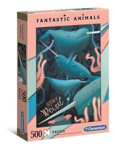 Puzzle Fantastic animals Narwhal 500