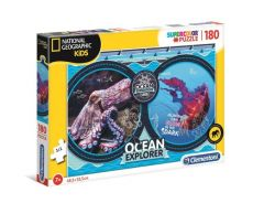 Puzzle Supercolor National Geographic Ocean Explorer 180