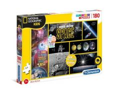 Puzzle 180 Supercolor National Geographic Kids