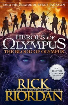 The Blood of Olympus Heroes of Olympus Book 5 - Rick Riordan