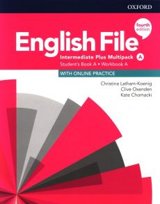 English File 4E Intermediate Student's Book/Workbook MultiPack A - Kate Chomacki, Christina Latham-Koenig, Clive Oxenden