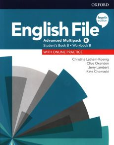English File 4E Advanced Student's Book/Workbook MultiPack B - Kate Chomacki, Jerry Lambert, Christina Latham-Koenig, Clive Oxenden