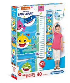 Puzzle Measure Me Baby Shark 30