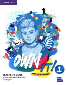 Own it! 1 Teacher's Book with Digital Resource Pack - Alice Copello