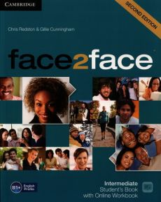 face2face Intermediate Student's Book with Online Workbook - Gillie Cunningham, Chris Redston