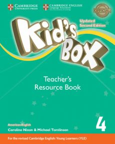 Kid's Box 4 Teacher's Resource Book with Online Audio American English - Kathryn Escribano, Caroline Nixon, Michael Tomlinson