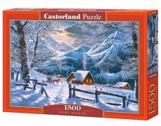 Puzzle Snowy Morning 1500