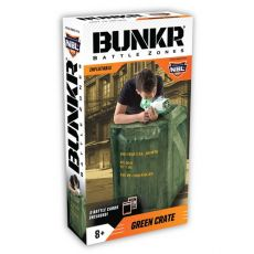 BUNKR zasłona Urban Green Crate do NERF
