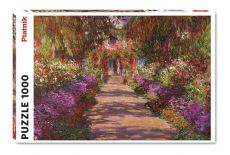 Puzzle 1000 Monet Ogród w Giverny