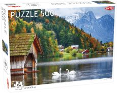 Puzzle Swans on a Lake 500