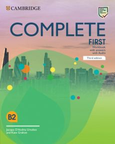 Complete First Workbook with Answers with Audio - D'Andria Ursoleo Jacopo